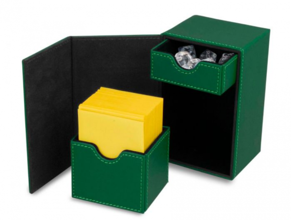 Card Game Deck Boxes: LX Deck Vault 80 - Green
