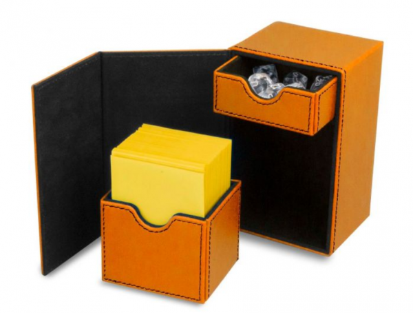 Card Game Deck Boxes: LX Deck Vault 80 - Orange