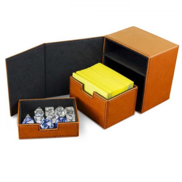 Card Game Deck Boxes: LX Deck Vault 100 - Orange