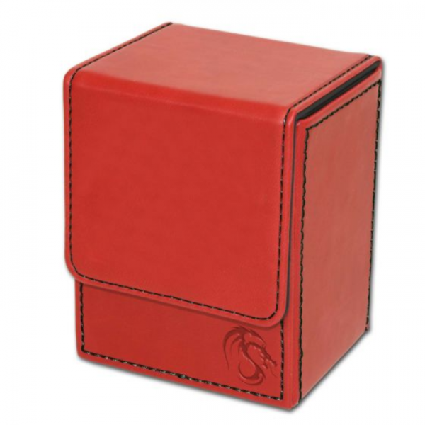 Card Game Deck Boxes: LX Deck Case - Red