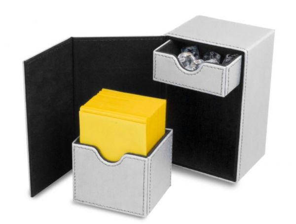 Card Game Deck Boxes: LX Deck Vault 80 - White