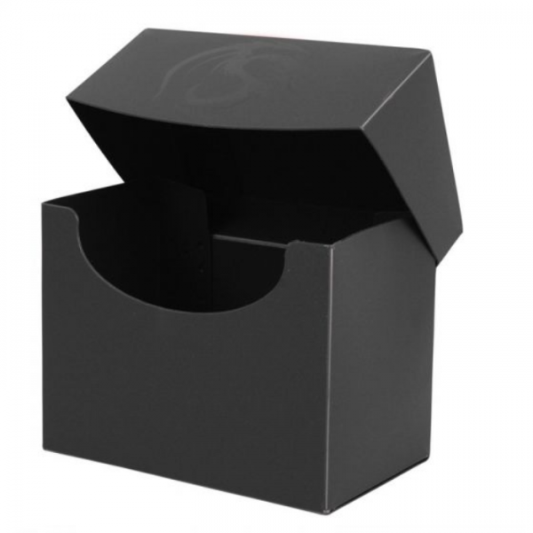 Card Game Deck Boxes: Deck Case Side Load - Black