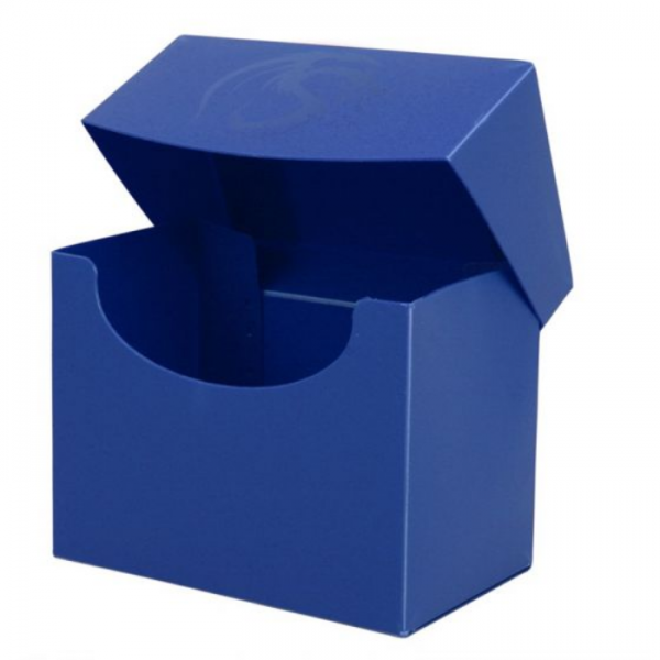 Card Game Deck Boxes: Deck Case Side Load - Blue
