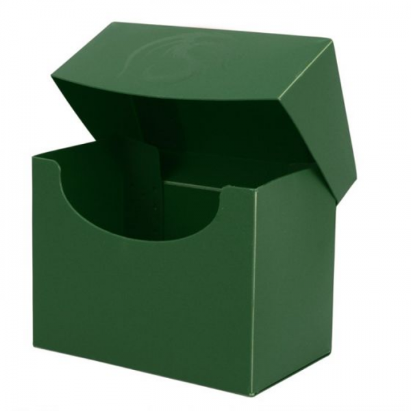Card Game Deck Boxes: Deck Case Side Load - Green