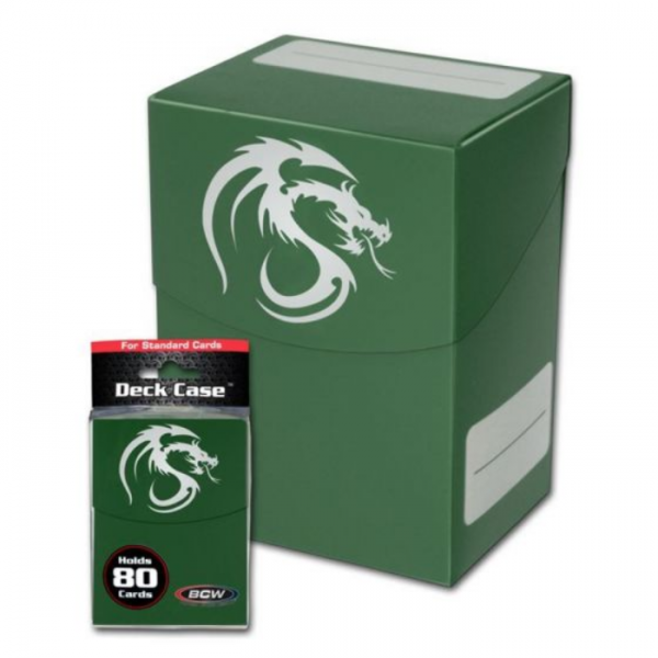 Card Game Deck Boxes: Deck Case - Green