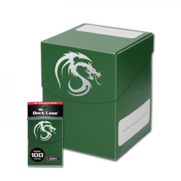 Card Game Deck Boxes: Deck Case - Green (Large)