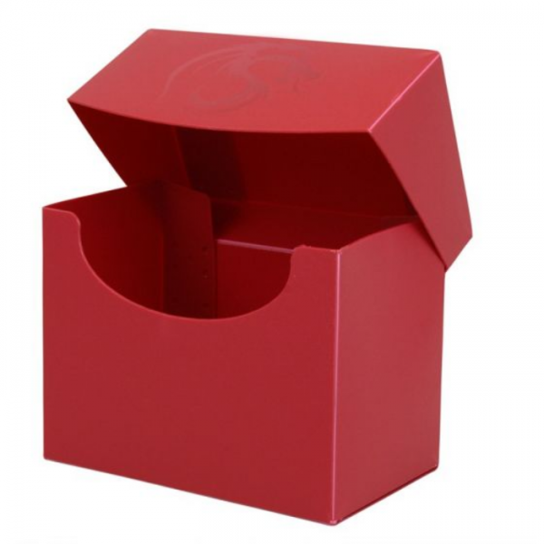 Card Game Deck Boxes: Deck Case Side Load - Red