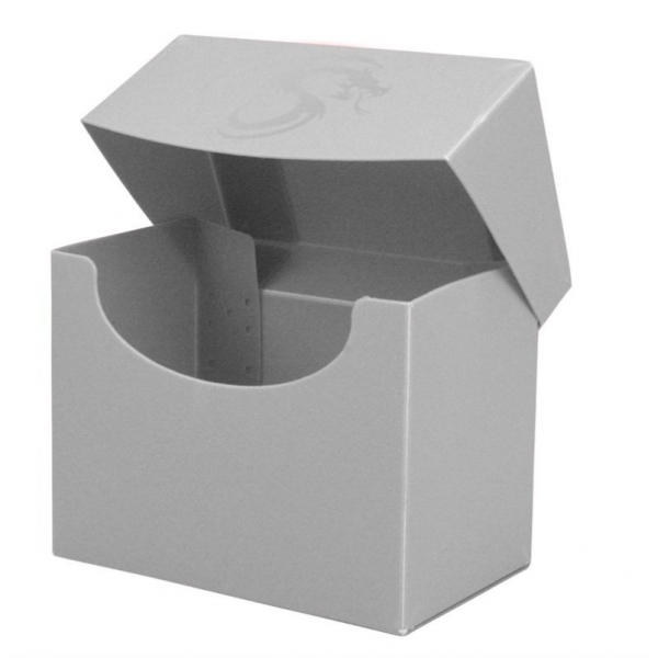Card Game Deck Boxes: Deck Case Side Load - White