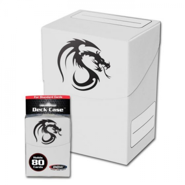 Card Game Deck Boxes: Deck Case - White