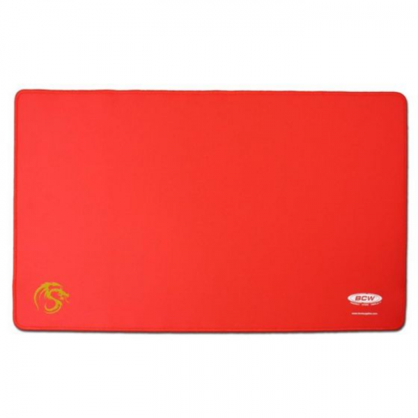 Playmat with Stitched Edging - Red