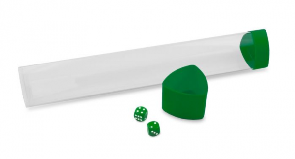 Playmat Tube with Dice Cap - Green