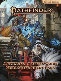 Pathfinder (P2): Advanced Player's Guide Character Sheet Pack (Accessory)