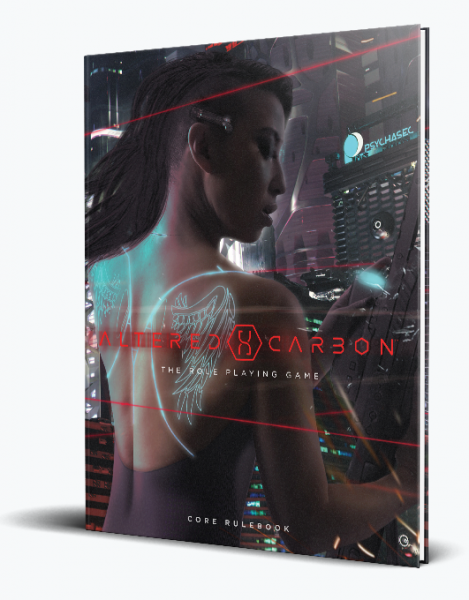 Altered Carbon RPG: Core Rulebook (HC)