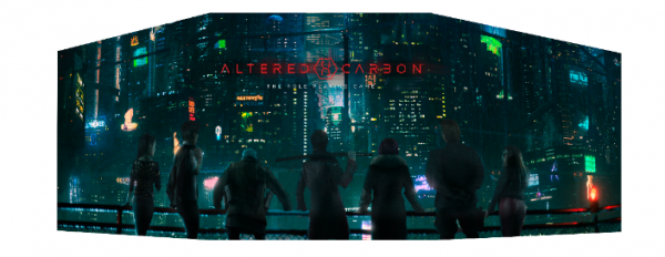 Altered Carbon RPG: GM Screen