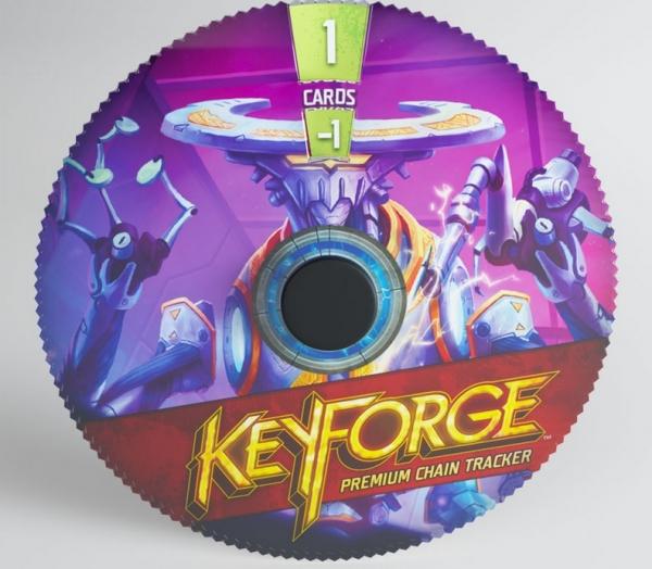 KeyForge: (Accessory) Premium Chain Tracker - Logos