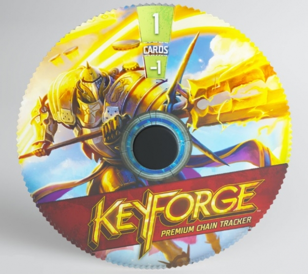 KeyForge: (Accessory) Premium Chain Tracker - Sanctum