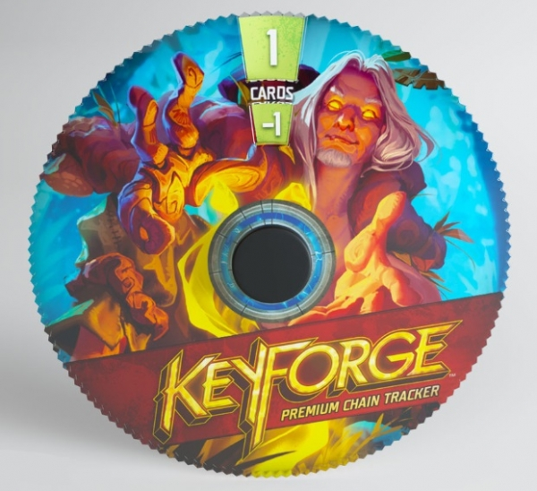 KeyForge: (Accessory) Premium Chain Tracker - Untamed