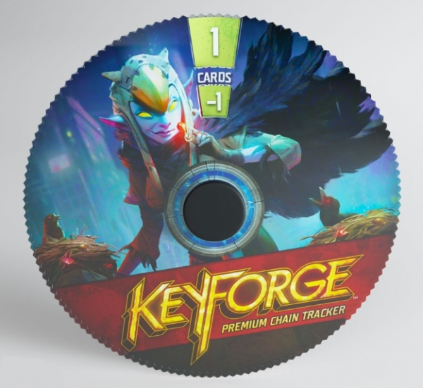 KeyForge: (Accessory) Premium Chain Tracker - Shadows