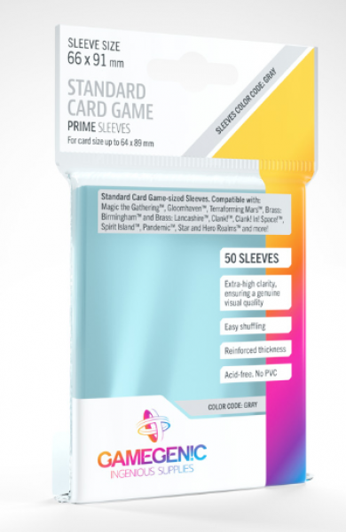 Gamegenic: Prime Sleeves - Standard Card Game (50)