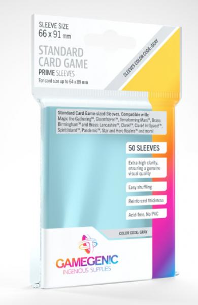 Gamegenic: Prime Sleeves - Standard Card Game (50)