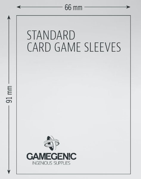Gamegenic: Matte Sleeves - Standard Card Came (50)