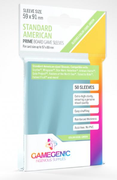 Gamegenic: Prime Sleeves - Standard American (50)