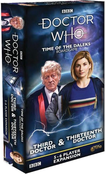 Doctor Who: Time of the Daleks Expansion - Third Doctor, Eighth Doctor and Thirteenth Doctor