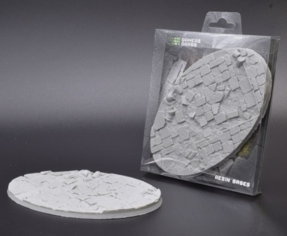 Temple Resin Bases: Oval 170mm (x1)