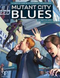 Gumshoe Rules System: Mutant City Blues (2nd Edition)