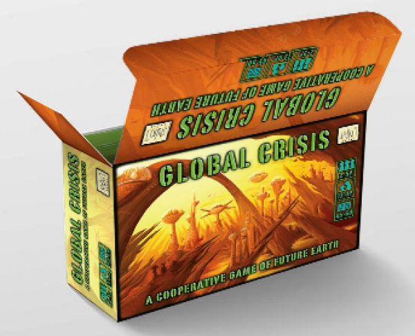 Global Crisis - A Cooperative Game of Future Earth