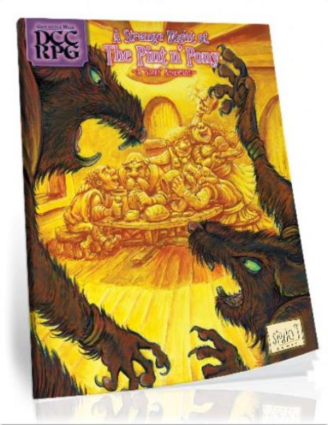 Dungeon Crawl Classics RPG: A Strange Night at the Pint n' Pony