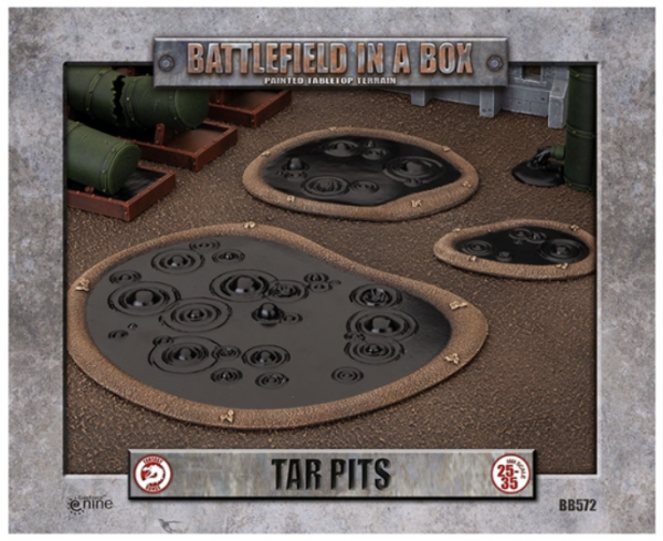 Battlefield in a Box: Tar Pits (2) 30mm