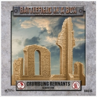 Battlefield in a Box: Gothic Battlefields - Crumbling Remnants - Sandstone (x2) - 30mm