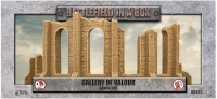 Battlefield in a Box: Gothic Battlefields - Gallery of Valour - Sandstone (x1) - 30mm