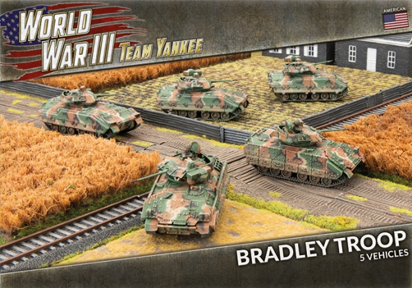 Team Yankee: (USA) M2 or M3 Bradley Troop (x5 Plastic)