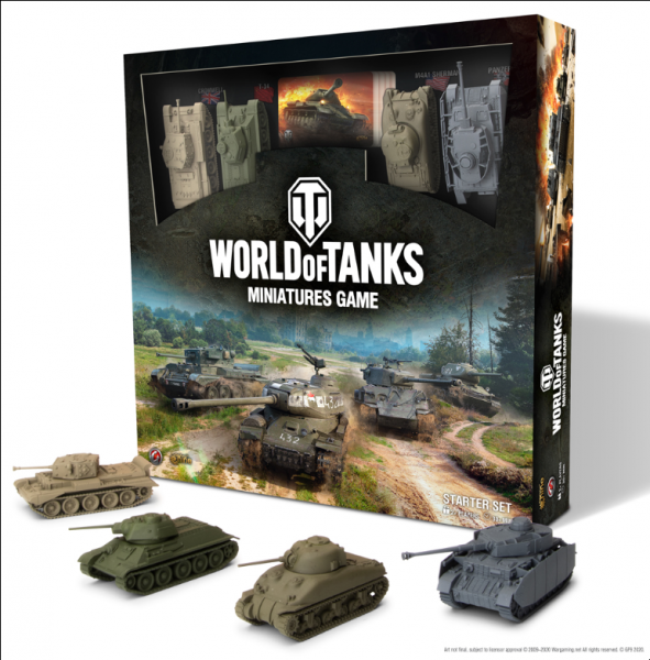 World of Tanks Miniatures Game: Starter Set