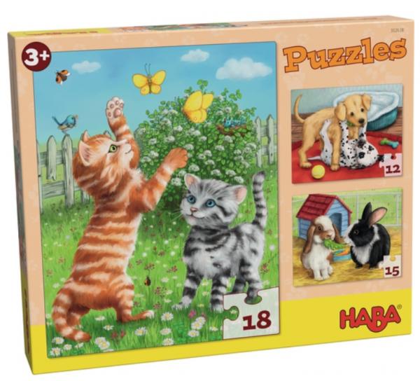 Puzzle Pack: Pets (3)
