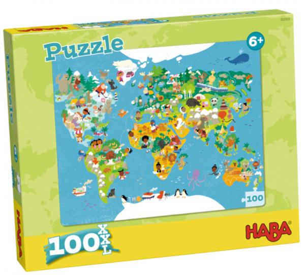 Puzzle: World Map