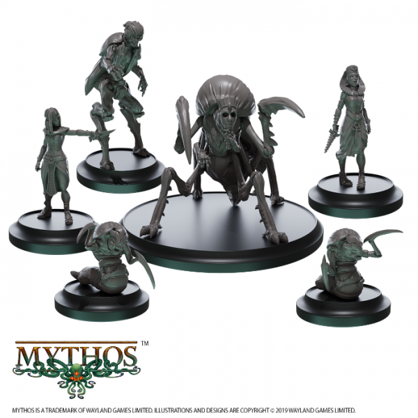 Mythos: The Custos Crypta Faction Starter Set