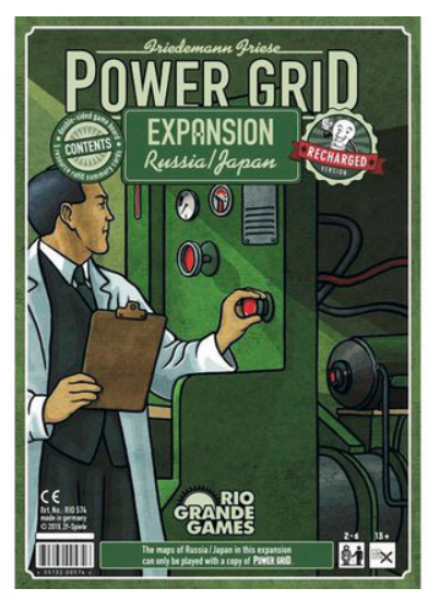 Power Grid: Russia/Japan Recharged Expansion