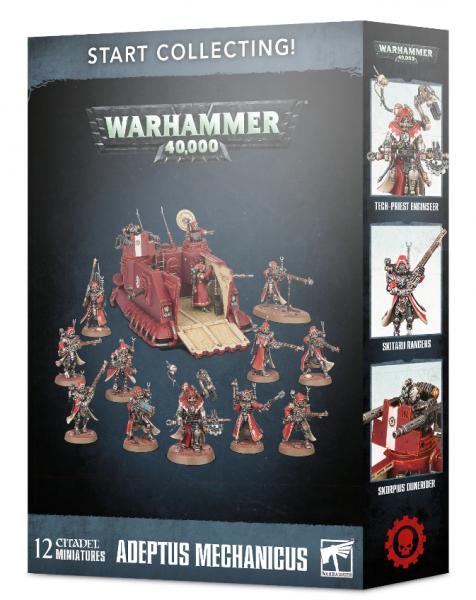 Warhammer 40K: Start Collecting! Adeptus Mechanicus