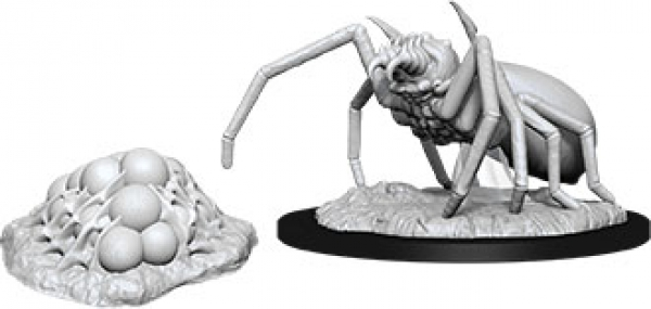D&D Nolzurs Marvelous Unpainted Minis: Wave 12 - Giant Spider & Egg Clutch