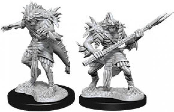 D&D Nolzurs Marvelous Unpainted Minis: Wave 12 - Sahuagin