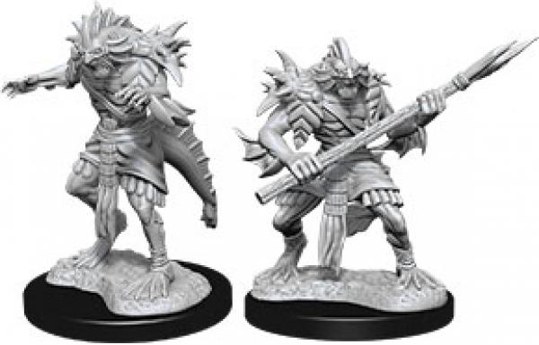 D&D Nolzurs Marvelous Unpainted Minis: Wave 12 - Sahuagin