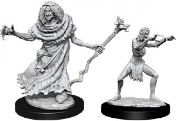 D&D Nolzurs Marvelous Unpainted Minis: Wave 12 - Sea Hag & Bheur Hag
