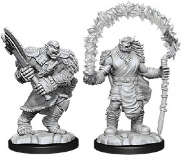 D&D Nolzurs Marvelous Unpainted Minis: Wave 12 - Orc Adventurers