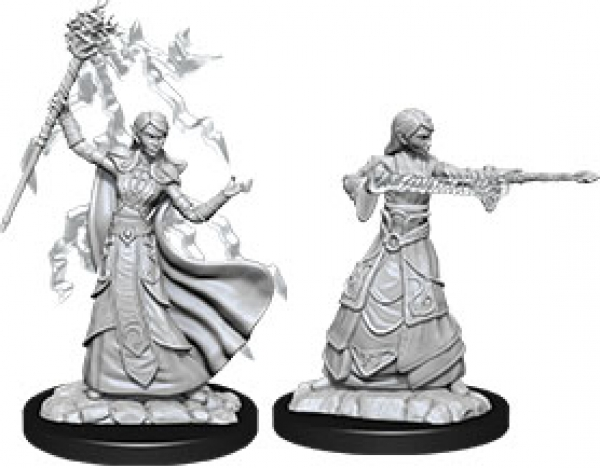 D&D Nolzurs Marvelous Unpainted Minis: Wave 12 - Female Elf Wizard