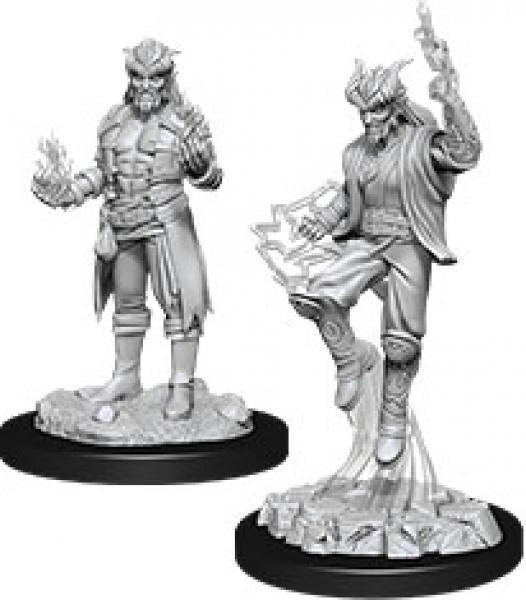D&D Nolzurs Marvelous Unpainted Minis: Wave 12 - Male Tiefling Sorcerer