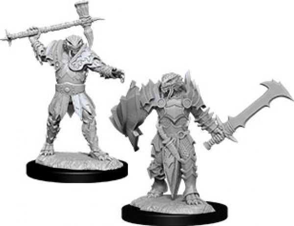 D&D Nolzurs Marvelous Unpainted Minis: Wave 12 - Male Dragonborn Paladin