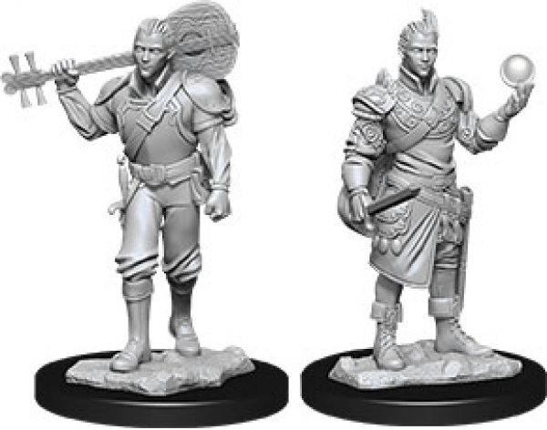 D&D Nolzurs Marvelous Unpainted Minis: Wave 12 - Male Half-Elf Bard